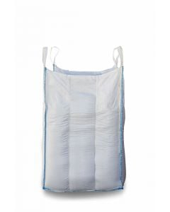 1.25 Tonne - Food Grade - Baffle Spout Top Spout Bottom - Bulk Bag - 105 x 105 x 120 CM