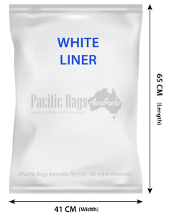 Woven Polypropylene - Feed Bags with Plastic Liner - 41 CM x 65 CM