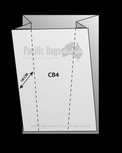 Woven Polypropylene - Gusseted Chaff Bag - (40 CM + 36 CM) x 112 CM