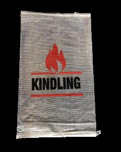 Woven Polypropylene - Printed Transparent Kindling Bags (No Weight) - 45 CM X 75 CM