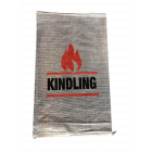 Woven Polypropylene - Printed Transparent Kindling Bags - 45 CM X 75 CM