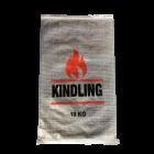 Woven Polypropylene - Printed 10 KG Transparent Kindling Bags - 45 CM X 75 CM
